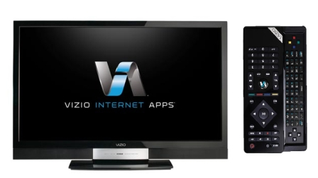 Vizio Internet Connected TVs With QWERTY Bluetooth Remote