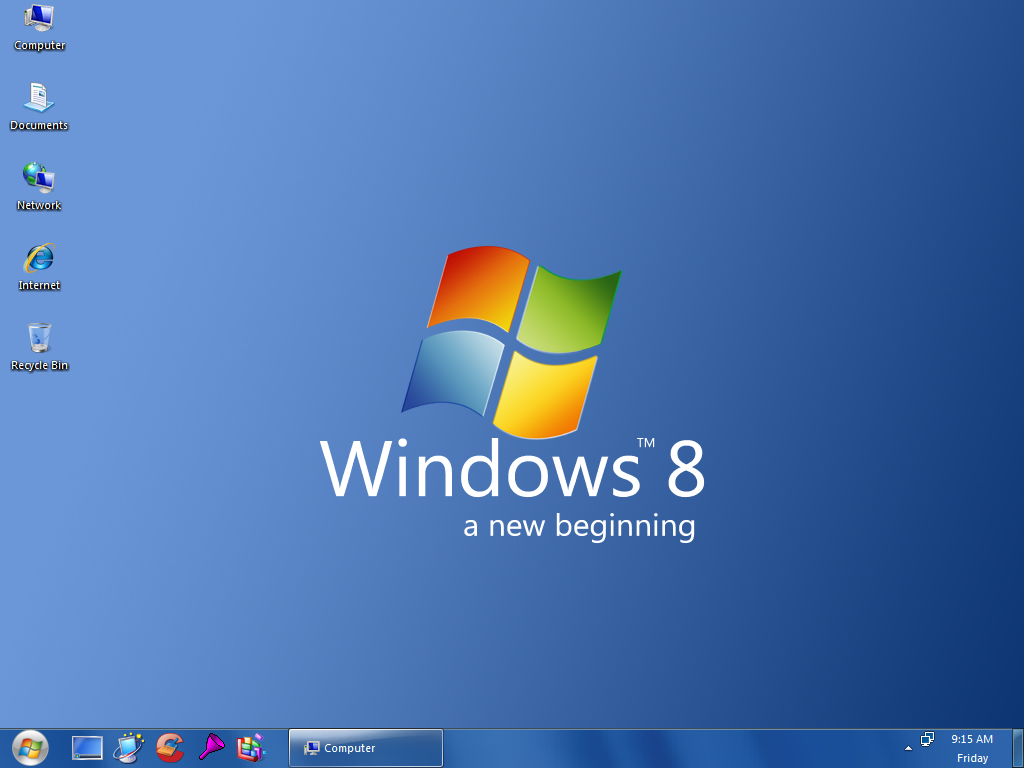 WINDOWS 8 will be optimized to work simultaneously with a Windows ...